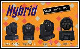 hybrid lights available at Audio Corner