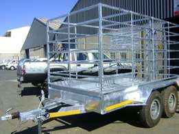Cattle trailer and sheep trailer available now R10599