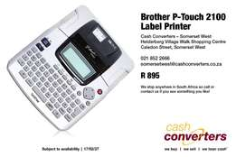 Brother P-Touch 2100 Label Printer for sale  Helderberg