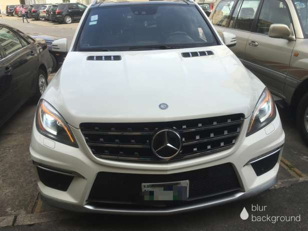 2012 Bought Brand New ML63 AMG Lekki - image 1