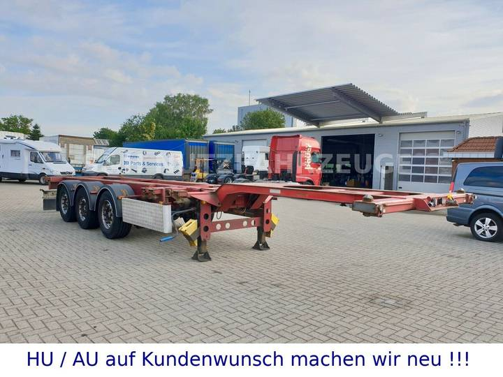 M&V Container Chassie 1x20 2x20 1x40 1x45 Fuß - 2008