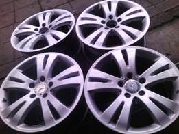 17 inch rims on special for sale in a good condition we also fit