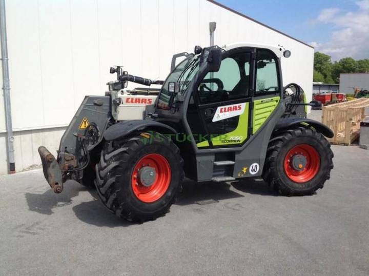 Claas scorpion 7050 - 2016