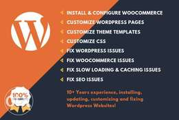 We create your website & App ,wordpress,ecommerce,php,shopify