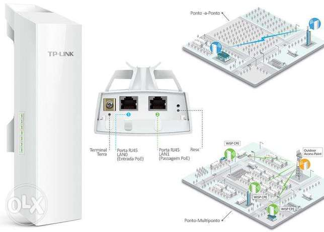 2 TP Link 2.4GHz 300Mbps 9dBi Outdoor CPE CPE210 (Slightly Used) Nairobi CBD - image 4