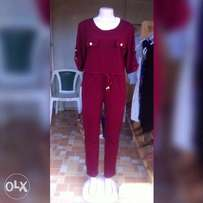 New jumpsuit heavy material non fade