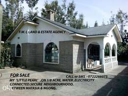 3 Bdrmd mst ensuite on 1/8 acre in ngong-matasia.