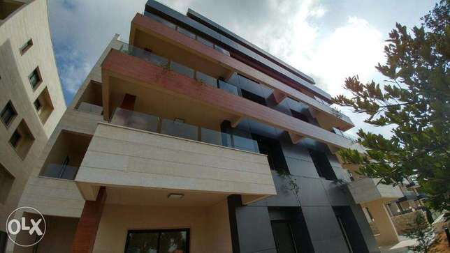 Ballouneh 185m2+100m2 garden-Cil area - brand new- apartment for sale