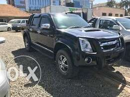 Isuzu Dmax Black 2010 Automatic 3000cc Turbo Diesel KCP Leather