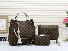 New arrivals ladies 3 in 1 handbags