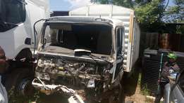 Isuzu Frr KBH with damaged cabin