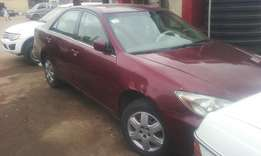 A clean Toyota camry 2003 model (first body paint )
