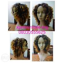 Toned Curly Tangle Free Wig