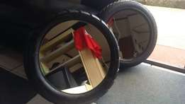 mirror tyres for sale foe your wall or a table. R400