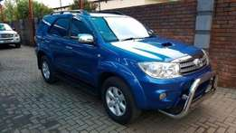 Toyota Fortuner 3.0d-4d R/b A/t