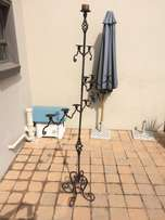 wrought iron 13 candle chandelier