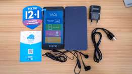 Tecno W4. Brand New, Sealed & Boxed. Delivery. 1 year Warranty 8499/=