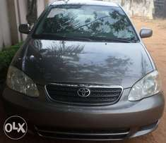 Excellent buy & rejoice toyota corolla 03. For sale in asaba.