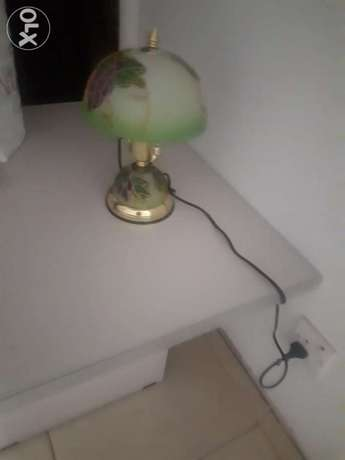 Side lamp, touch to light