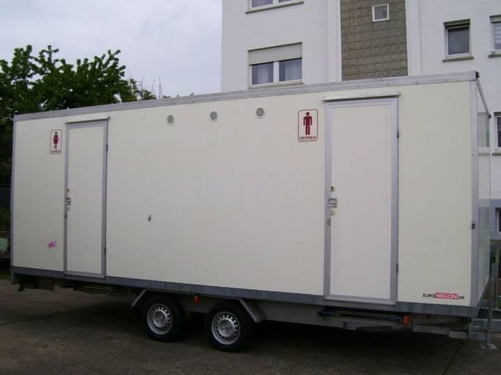 EURO WAGON-WC-Mobil Toilettenanhänger - 2009