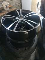 18 inch 5/112 pcd tsw rims for sale