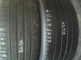 225/45/19 ,255/50/19 second hand tyres