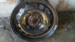 Golf4 steel rim for spare