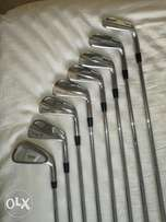 Cobra PRO mb irons + Taylor made 3 iron