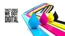 full colour printing, 24/7, 365 Fast and reliable