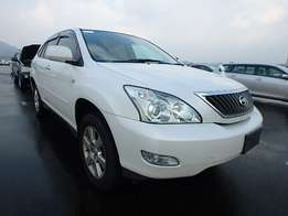 Toyota Harrier pearl white 2011 model very clean- KCK reg