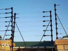 Electric and Razor wire Fencing Installation
