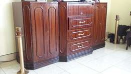 Pure Mahogany TV unit Classic for Sale!!