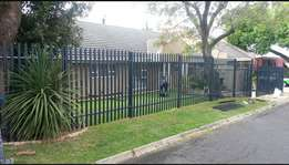 Installation on Palisade Fencing