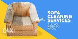 Call for manual sofa cleaning