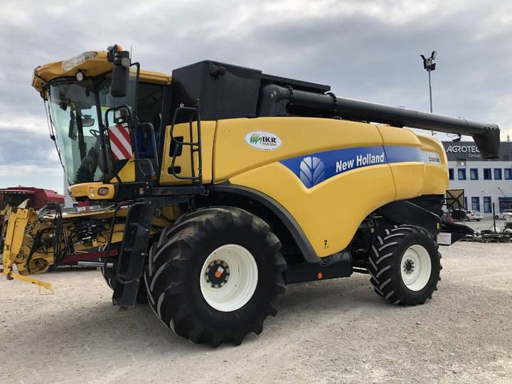 New Holland Cx 8080 Sl+4wd - 2010