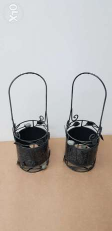 Steel basket for sweets, chocolate, decorative