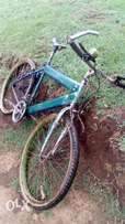 A brand new bicycle en easy to maintain