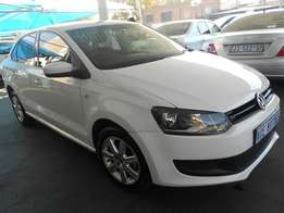 2014 VW Polo 6 1.4 Sedan for R114000.
