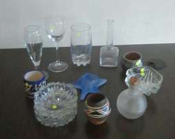Pick and Choose from Glass,Ornaments,Ash trays etc.