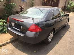 2007 Model Honda Accord Tokunbo