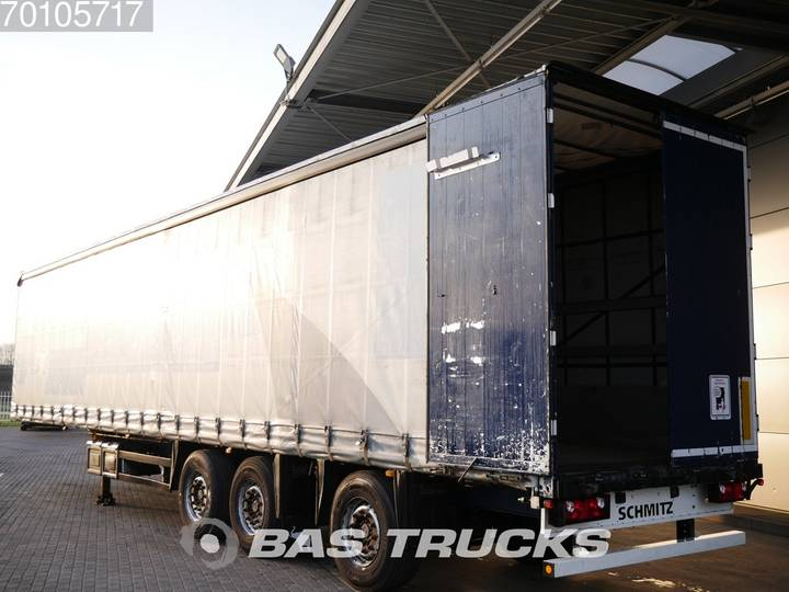 Schmitz Cargobull S01 3 axles Liftachse Lenkachse Bordwande - 2006