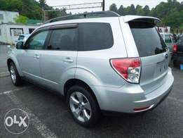 Subaru forester silver in color 2010 model