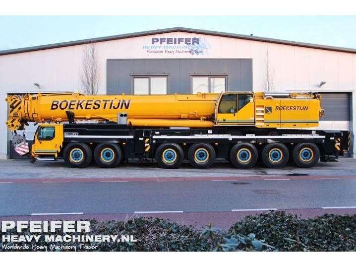 Liebherr LTM1400-7.1 400t Cap, 60m Boom, 56 m Fly and 84 m - 2009