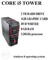 Gaming tower core i5