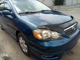 Accident free 2005 Tokunbo Toyota Corolla Sports
