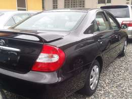 Clean Tokunbo Toyota Camry 2003 wine