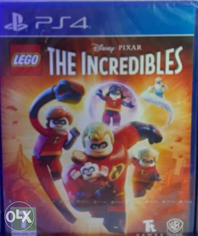 The Incredibles for Ps4 Game new