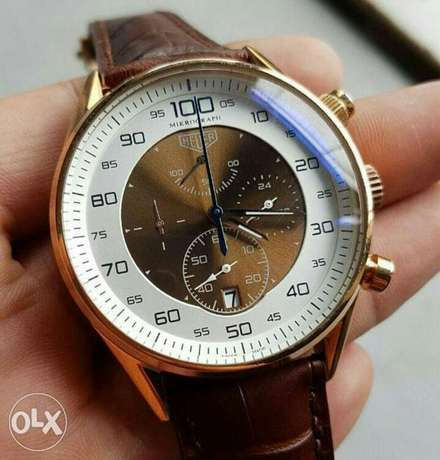Tag Heuer Leather