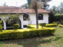 4 bedroom house on 3/4 acre land loresho
