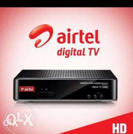 AirTel Line and box available Full HD low rat